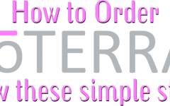 How do I order doterra online